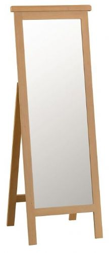 Chelmsford Oak Cheval Mirror